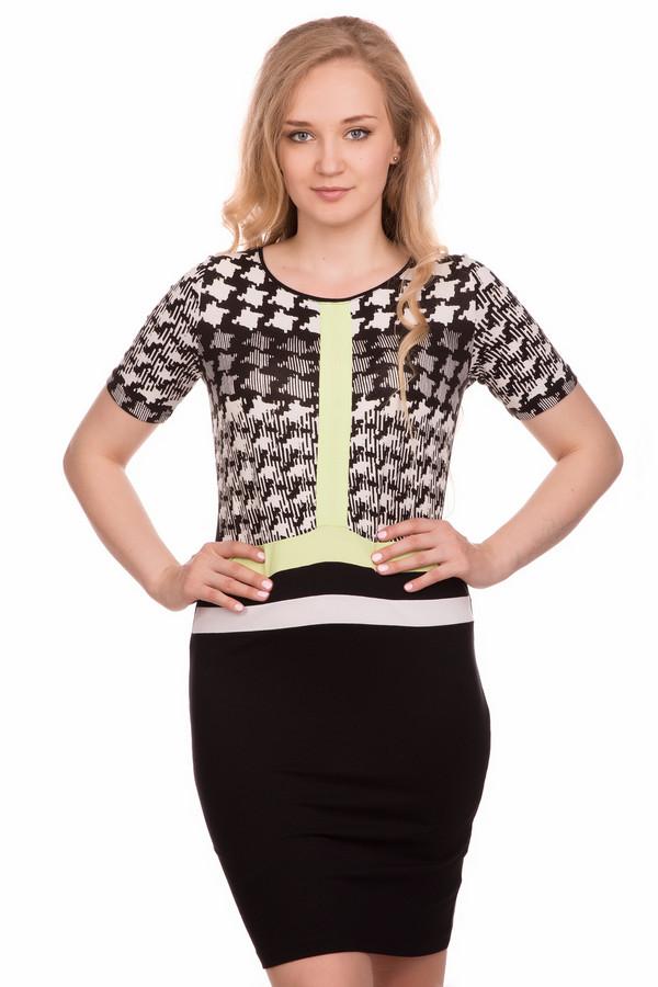 Платье SteilmannПлатья<br><br><br>Размер RU: 42<br>Пол: Женский<br>Возраст: Взрослый<br>Материал: эластан 8%, вискоза 92%<br>Цвет: Разноцветный