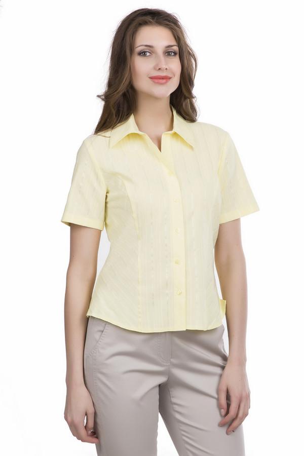 Блузa SteilmannБлузы<br><br><br>Размер RU: 44<br>Пол: Женский<br>Возраст: Взрослый<br>Материал: эластан 3%, полиэстер 35%, хлопок 62%<br>Цвет: Жёлтый