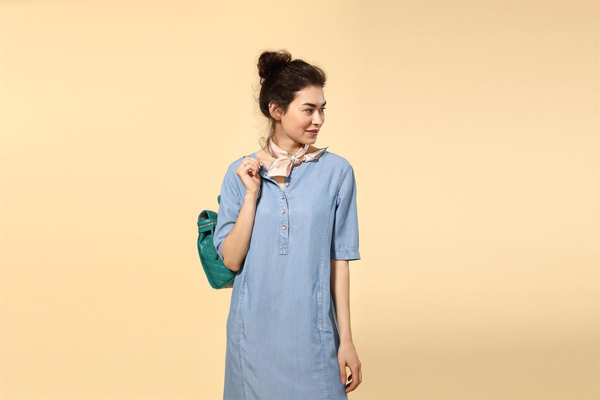 84072992af7 Что из себя представляет платье-рубашка  Создатели этого варианта женской  одежды в ...